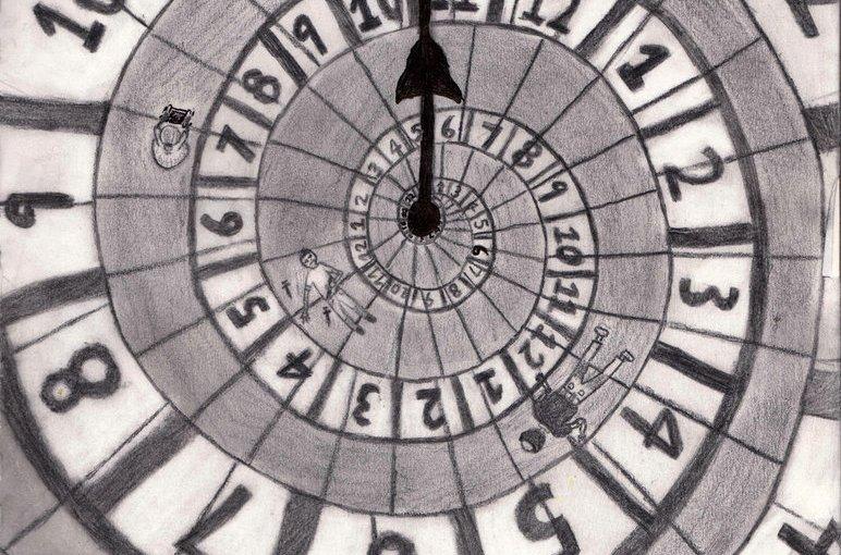 Art Piece: Spiraling